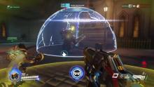 Here is Winston's particle barrier in use!
