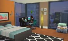 Penny Pizzazz, art deco, bright, happy apartment, cute home, pretty home
