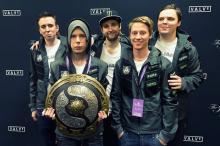 Team Alliance, the winners of the third International tournament.