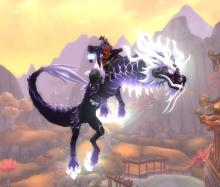 Owning the skies with this massive cloud serpent will make you feel like a boss