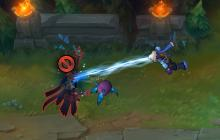 Karthus getting a face full of Space Aids.