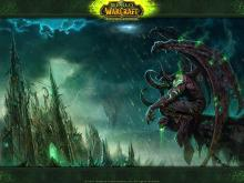 Illidan, forever brooding. So much angst!