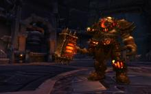 Warlords of Draenor introduced Orc's on fire.