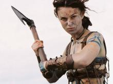 Keira Knightley with an Axe... Yup