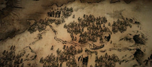 picture of the Dark Souls II map which looks like the LOTR map