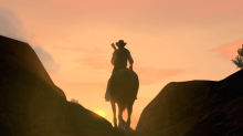 A snap from a scene in Red Dead Redemption, why has no one else made a cowboy game?