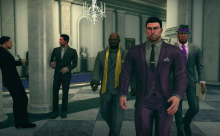 In Saints Row IV you play as the President of the United States...the scene looks a bit like West Wing doesn't it?
