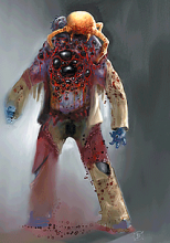 Alien concept art for HL2