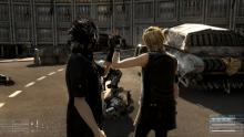 Thanks for saving my hide. - Noctis