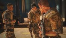 The three Delta force soldiers sent to investigate the missing 33rd batallion.