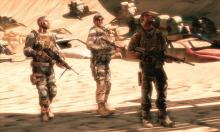 The trio will face many gunfights with the militia and enemy soldiers.