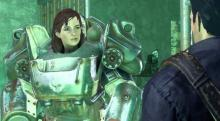 Who honestly thought it was a good idea to give this tough Irish girl power armor? Now she's unstoppable!
