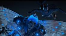 This COOL scene shows Batman ambushing Mr Freeze