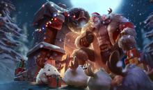 This skin fits great with Braum, a perfect Santa.