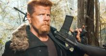 Abraham is ready to waste some Walkers.