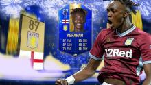 Abraham got a TOTS last year with Aston Villa, which shows he is in good form.