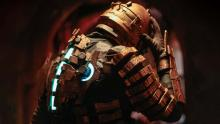 Dead space cosplay with Issac's glowing health bar