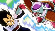 Vegeta fights Frieza