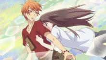 Tohru falls for Kyo