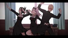 Victory dance?