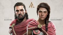 Odyssey allows you to pick which twin you'll play as, each has a unique personality, although the skills and customizations are the same.