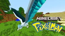 What's better than playing Minecraft and seeing all of your favorite Pokémon?