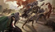Drizzt, along with heroic friends, take on a Great Wyrm and its legion of Dragon Men.