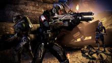 Guns in Mass Effect 3.