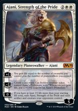 Lion planeswalker of truth and honor