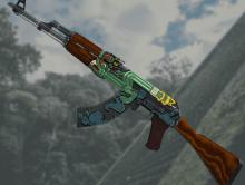 Another notable AK-47 skin.