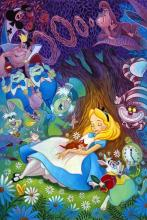 Alice sees all of her friends from Wonderland