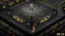 You can fully customize your game to feature wrestlers, arenas, and logos from real life companies