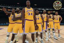 The roster for a team of the best Lakers ever.