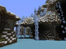 Arguably one of the coolest biomes in an amplified seed are the ice and arctic biomes.