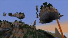 Floating islands are commonplace in amplified seeds.