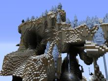 Ice spikes generate more dramatically in an amplified world.