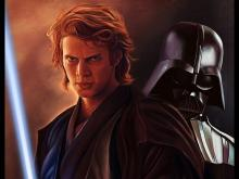 Anakin as he appears in Revenge of the Sith