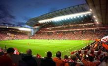 A brilliant stadium with great atmosphere, Anfield had to top this list.