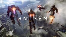Anthem Javelins and the games logo