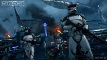 Clone troopers are watching for enemies on Kamino.