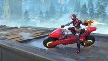 Realm Royale combines mystic fantasy and hi-tech weaponry and vehicles.