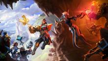 Dungeons III's stunning art style breathes vibrant life into the game.