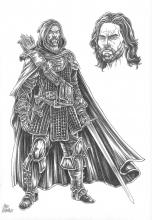 Aragorn is the initial inspiration for the ranger class