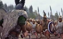 Hold the line as the mighty spartans