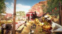 Arizona Sunshine brings a unique sense of style to the zombie shooter genre.