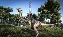 A Gallimimus can use little stamina when sprinting, making it easier to cover more ground