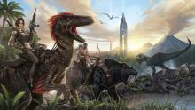 This sandbox style survival games is the ultimate dinosaur game.
