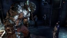 Even in chains, Killer Croc is still very dangerous. You might have to tangle with him later on!