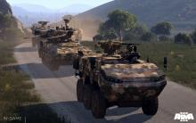 Mount up in armored vehicles in Arma 3.