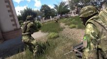 AAF is a neutral faction in ARMA 3,but can choose to join another side.